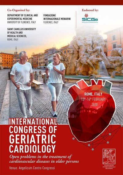 International Congress of Geriatric Cardiology: open problems in the treatment of cardiovascular diseases in older persons.